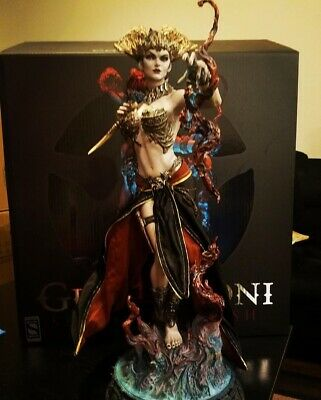 SIDESHOW Court of the Dead Gethsemoni Premium Format Figure Statue EXCLUSIVE.