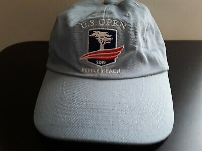 2019 Us Open Pebble Beach New Light Blue Golf Hat - Check Against Pga Prices!