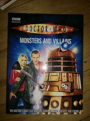 Doctor Who Book Paper Back Monster And Villains