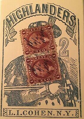 Poker Deck Playing Cards 1864 L.I. Cohen N.Y. UPC 63