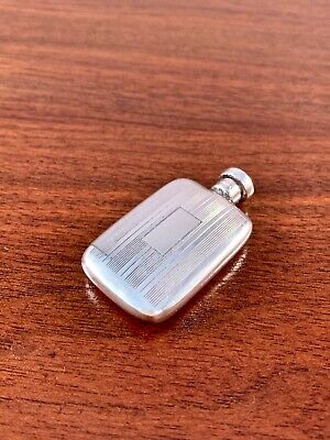 Pristine Tiffany & Co Sterling Silver Perfume Bottle W/ Dabber Art Deco: No Mono