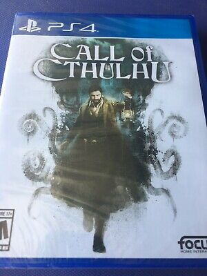 Call of Cthulhu (PlayStation 4 / PS4) BRAND NEW Seal