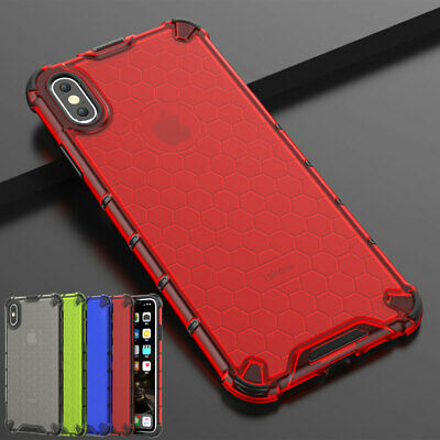 For iPhone 6s 7 8 Plus XR X Xs Max Cover Slim Hybrid Shockproof Armor Case Shell