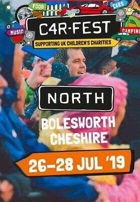 Carfest North Weekend Ticket Without Camping Adult X 1  (11 Available In Total)