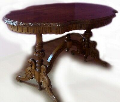The HandMade OAK Table - SOLID WOOD, NEW !!! Authentic from Master of Sculpture