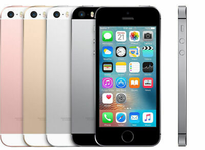 Apple iPhone SE 128GB SmartPhone Factory Unlocked - Various Colors - Mobile iOS