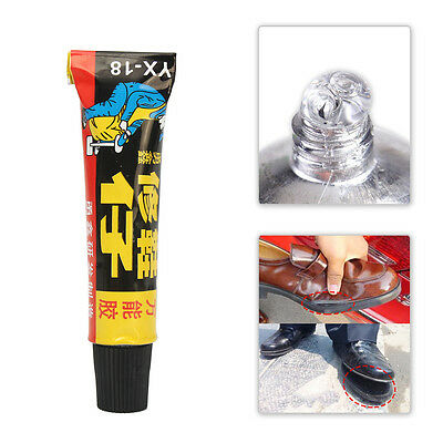 18ml Super Adhesive Leather Fixer Best for Shoe Repair Glue Sole Boots Rubber AW