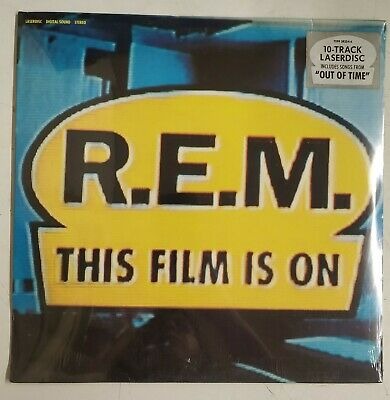 R.E.M. This Film Is On Laserdisc Europa  PAL 1991