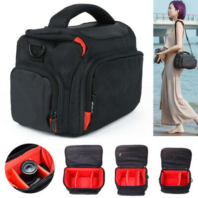 Waterproof Camera Shoulder Bag Protective Carrying Case For Canon Sony SLR DSLR