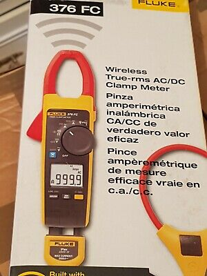Fluke 376 FC True RMS AC/DC Clamp Meter with iFlex and Fluke Connect!!