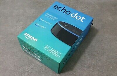 Amzon Echo Dot - Alexa Smart Speaker - Black (New & Sealed)UK