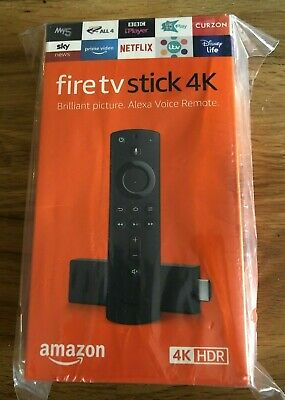 Amazon Fire Stick 4K - Alexa (New & Sealed) UK