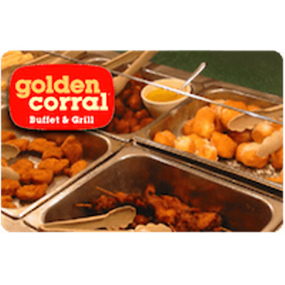 Golden Corral Gift Card $25 Value, Only $24.00! Free Shipping!