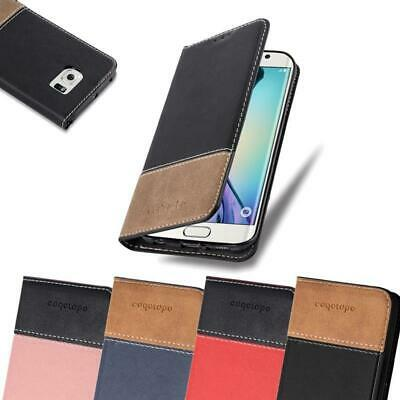 Case for Samsung Galaxy S6 EDGE PLUS Phone Cover PU leather Combi X Wallet Book