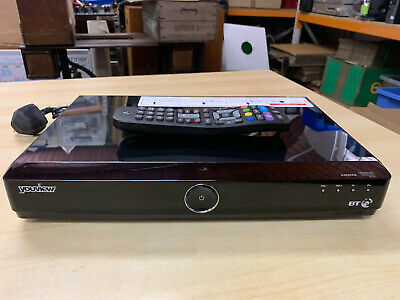 Humax DTR-T1000 Youview+ 500GB DVR HD Freeview Set Top Recorder Catch Up TV E78