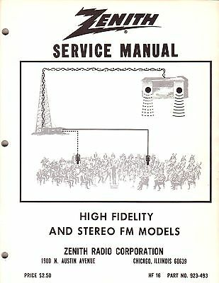 NEW Service Manual Heathkit/Zenith Stereo FM Systems HF-19 See index 86 pages