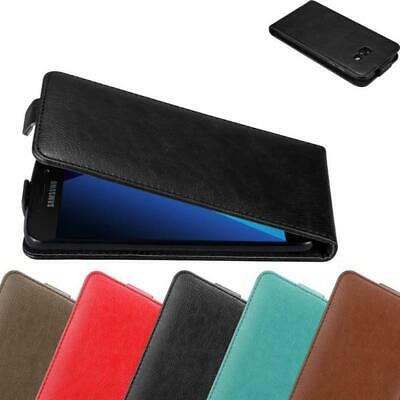 Case for Samsung Galaxy A5 2017 Protective FLIP Magnetic Phone Cover Etui