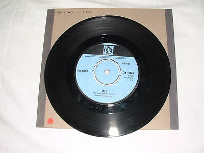 """Collectable Vinyl, The Kinks, Lola, 7"""" 45rpm, PYE"""
