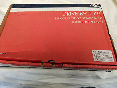 Unipart Timing Cam Belt Gkt1559Xs  For Audi Seat Skoda Volkswagen Tensioner