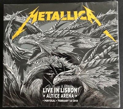 "METALLICA : ""Live In Lisbon 2018"" (RARE 2 CD)"