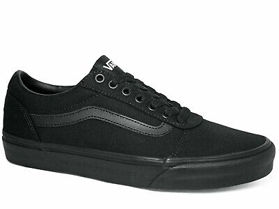 Vans Herren Atwood Canvas Total Schwarz Sneakers, (Black 186)