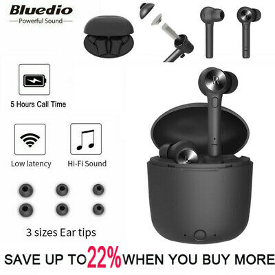 Bluedio Hi Wireless Bluetooth Earphone Stereo Sports Earbuds Headset low latency