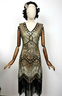 Vintage Style Flapper Dress, 1920s 1930s Peaky Blinders, Great Gatsby, Art Deco