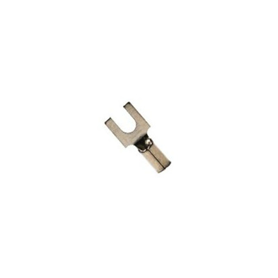 3M(TM) Non-Insulated Butted Seam Locking Fork Terminal, SS-32-8