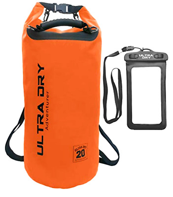 Phone Case and Waist Pouch Set ... AquaLite Waterproof Dry Bag 20 Litre