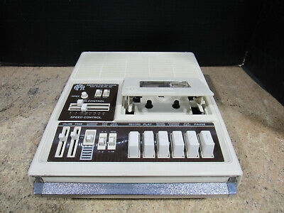 Tested American Printing House APH for the Blind Cassette Player/Recorder 5198A