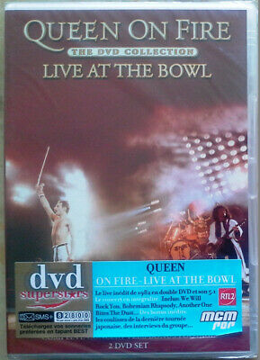 DVD Double Neuf Concert Queen on Fire Live at The Bowl