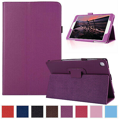 "For Samsung Galaxy Tab A 8.0"" 2019 P200 P205 Case Leather Folio Thin Stand Cover"