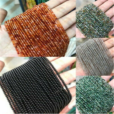 1pcs 2mm Natural Aquatic Agate Round beads Loose Bead 15 inches Styles Strand