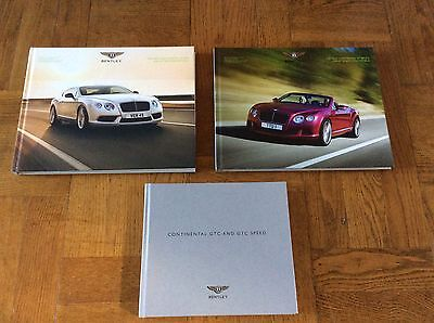 Bentley -The New Bentley Continental GT Speed and GT Speed Convertible  x 3 NEW