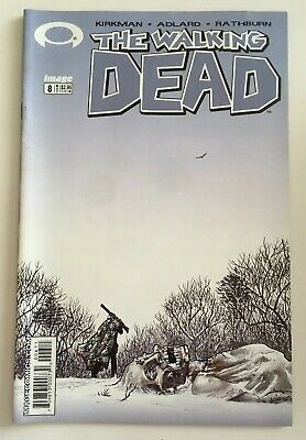 The Walking Dead #8 Image Comics 1st Print