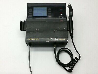 Pti Omnisound 120 3000 Us Ultrasound Physical Therapy 1+3 Mhz/2+5 Cm2+1*Probe
