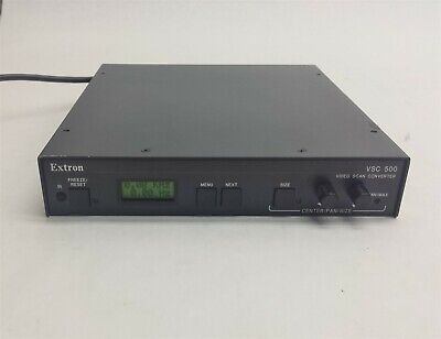 Extron VSC 500 High Resolution Computer to Video Scan Converter
