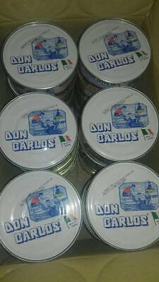 10 x 1kg tin Whole salted Anchovies Don Carlos
