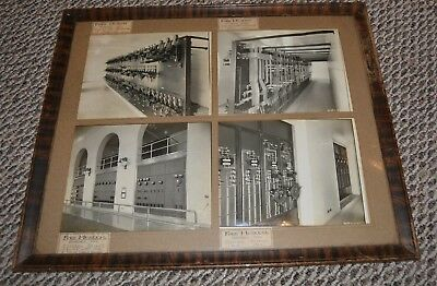 Ford Museum !!!! Dearborn Michigan Vintage 1930'S Framed Photos From Museum Rare