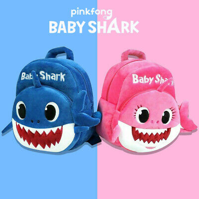 Baby Shark Backpack Plush Cute Cartoon 2019 Animal Bag For Children Kid Gift