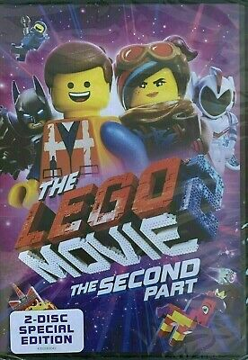 The Lego Movie 2: The Second Part (DVD 2019) . Free ship with media mail.