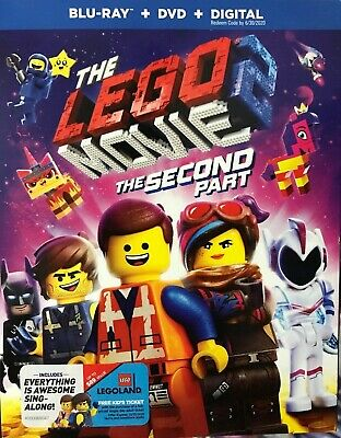 The Lego Movie 2: The Second Part (Blu-ray/DVD/Digital) NEW. Free Shipping