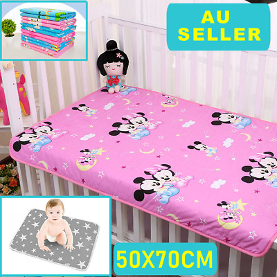 Waterproof Baby Diaper Changing Mat Travel Home Soft Change Pad Clean Portable