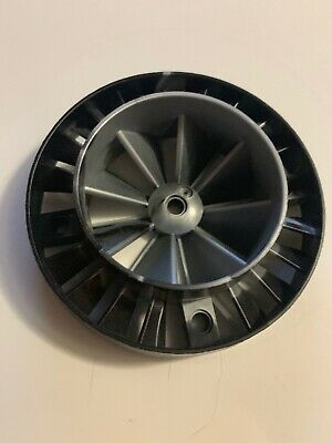 LEGO Pearl Marbled Gray Large Turbine Engine Exhaust Fan