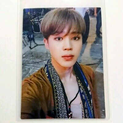BTS JIMIN LIVE TOUR LOVE YOURSELF FC Limited Official Photo Card From Japan