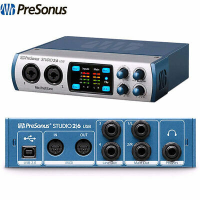 Clearance Presonus Studio 26 Audio interface with 2 x XMAX class A preamps