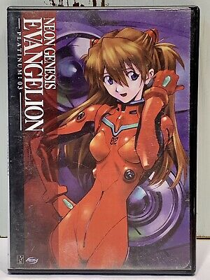 Neon Genesis Evangelion Platinum 03 vol 3 anime DVD tested ADV 2004 eps 11-14
