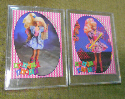 #D337.   Two(2)  Cased  1997  Barbie Years Cards,  By1 & By3