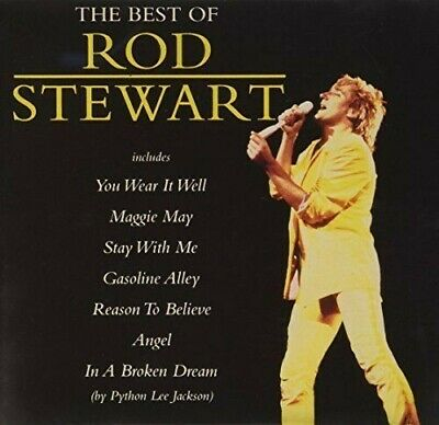 CD : The Best of Rod Stewart : 16 Tracks Compilation (1992)
