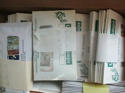ESTATE: Australia in packets perfect for resale make $$$ must have    (b1081)